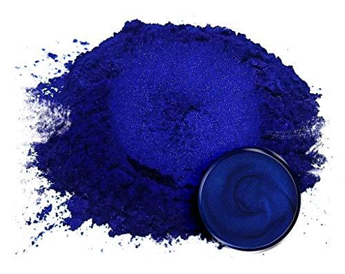 Eye Candy Mica Powder Pigment Nokon Blue (50g) Multipurpose DIY Arts and Crafts Additive | Natural Bath Bombs, Resin, Paint, Epoxy, Soap, Nail Polish, Lip Balm