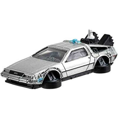 Hot Wheels 2020 Hw Screen Time 9/10 - Back to The Future Time Machine Hover Mode: Toys & Games