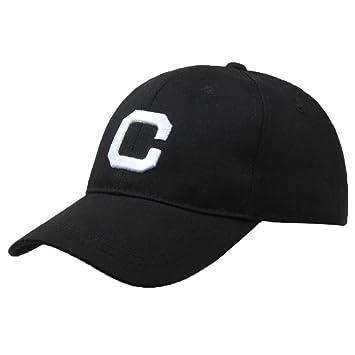 d998438f42c Amazon.com: Fheaven (TM) Men Women Letter C Printed Hats Casual Unisex Hip-Hop  Baseball Cap Adjustable (black): Beauty
