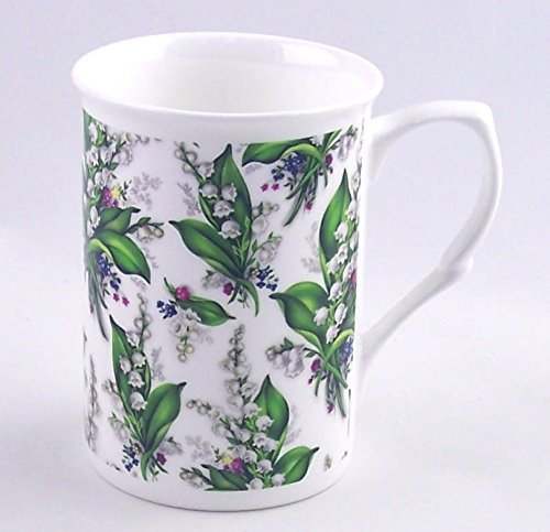 Fine English Bone China Mug - Lily Chintz - Adderley Fine China - England