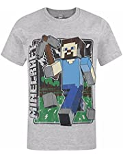 Minecraft Vintage Steve Boy's T-Shirt