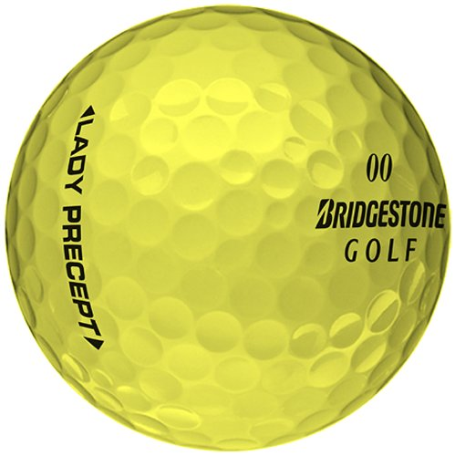Bridgestone Golf Lady Precept Golf Balls , Yellow