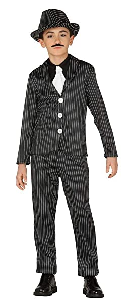 Amazon.com: Disfraz de gánster o solapa, para niños de los ...
