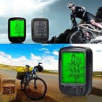 Ardisle Digtal Speedometer Odometer LCD Waterproof Bike Bicycle Cycling Computer Speedo