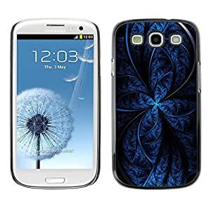 GagaDesign Phone Accessories: Hard Case Cover for Samsung Galaxy S3 - Blue Abstract