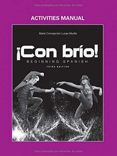 Con bro: Beginning Spanish Activities Manual (Spanish Edition)