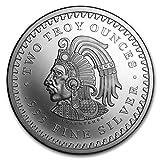 2 oz .999 Aztec Calendar Stone, Eagle Warrior