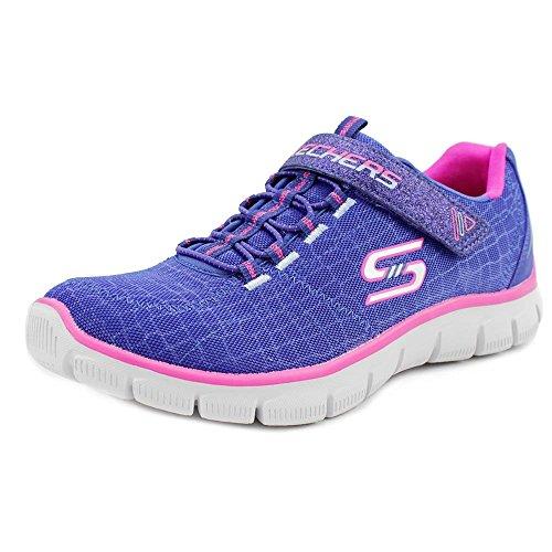 Skechers Empirerock Around - Zapatillas Niñas Blue-Pink