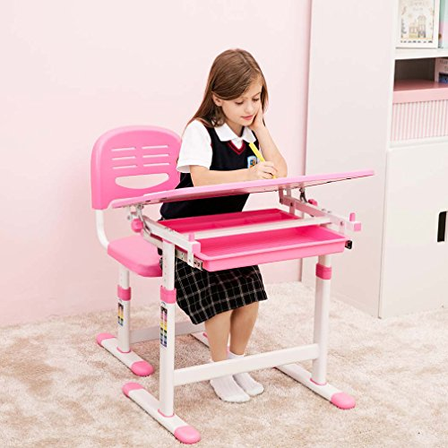 Adjustable Height Table For Kids - 5