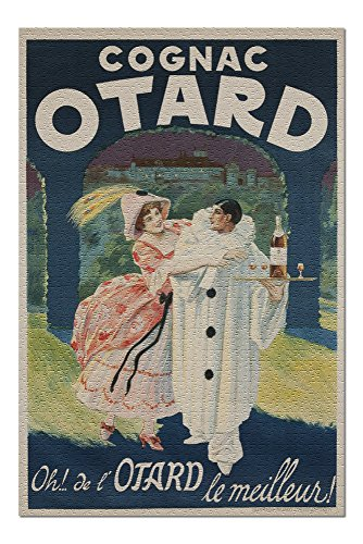 Cognac Otard Vintage Poster France c. 1910 (20x30 Premium 1000 Piece Jigsaw Puzzle, Made in USA!)
