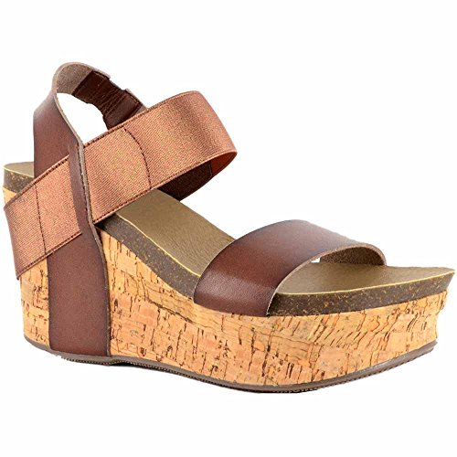 sale best place Corkys Women's Wedge Sandal Chocolate order cheap price best sale sale online kpFYE3