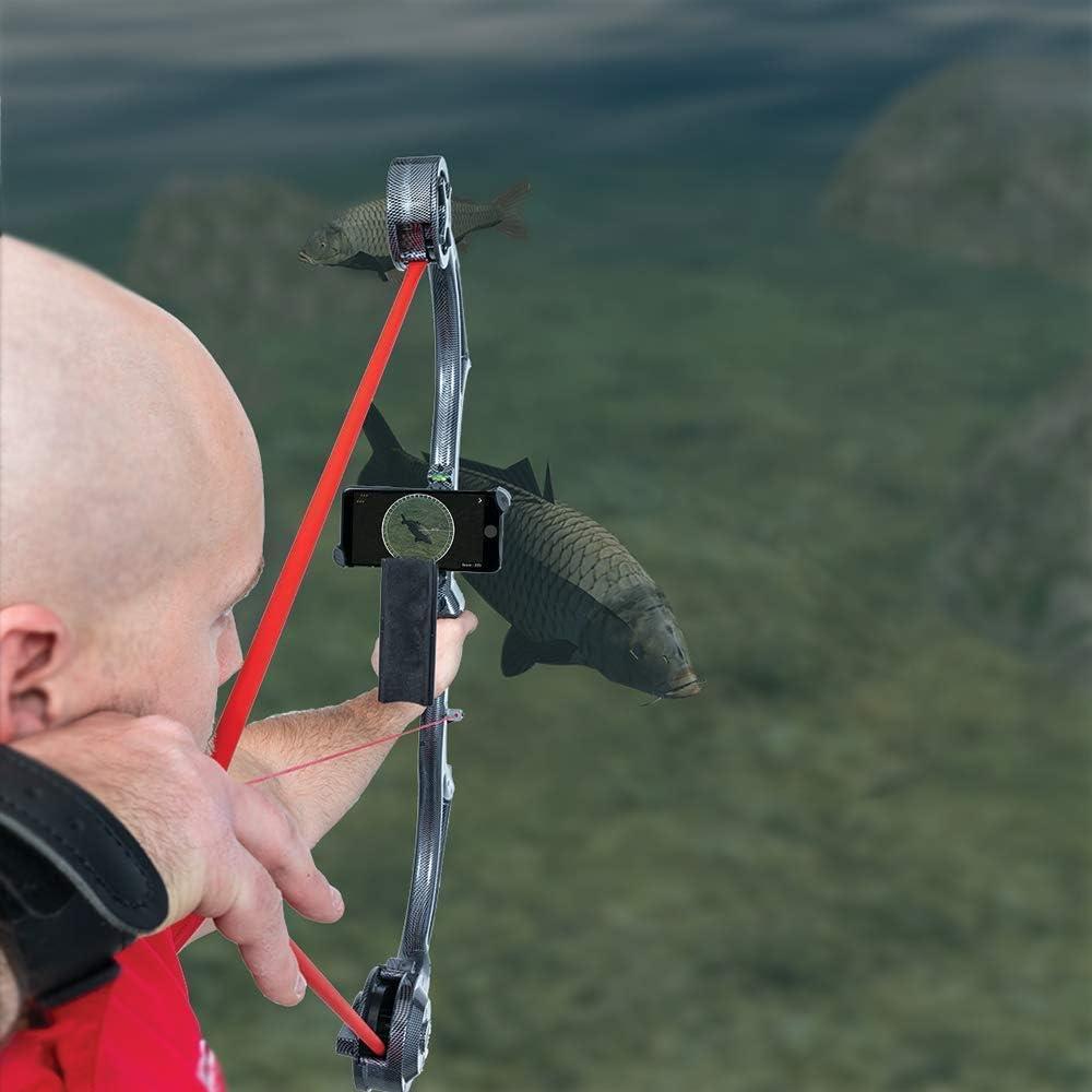 Accubow Tir à l/'arc//Bowhunting Trainer Carbone Bundle avec Téléphone Mount