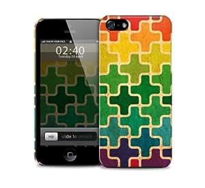 Gradient Puzzle Apple iPhone 6 protective designer plastic skin / case (to fit 4.7 inch version)