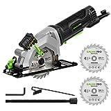 Circular Saw, GALAX PRO 4Amp 3500RPM Mini Circular Saw with Laser Guide, Max. Cutting Depth1-11/16