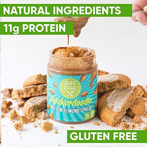 Protein Almond Butter Nut Spread With Grams Jpg 500x500 Flourless Buff Bake Birthday Cake Bread