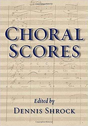 Book Choral Scores