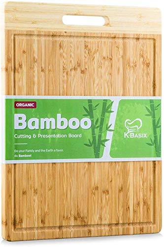Basix Large Bamboo Cutting Board product image