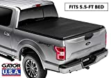 Gator ETX Soft Tri-Fold Truck Bed Tonneau Cover | 59312 | 2015 - 2019 Ford F150 5.5' | MADE IN THE USA