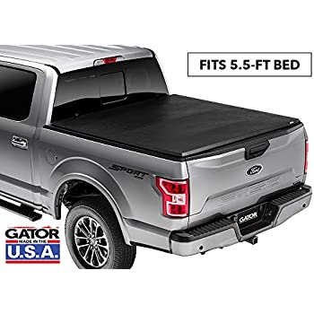 Gator ETX Soft Tri-Fold Truck Bed Tonneau Cover | 59504 | fits Nissan Titan 2004-15 (5 1/2 ft bed) without rail system