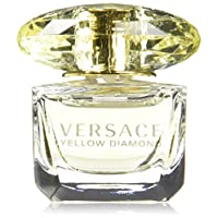 Versace Yellow Diamond EDT Splash, 0.17 Fl Oz