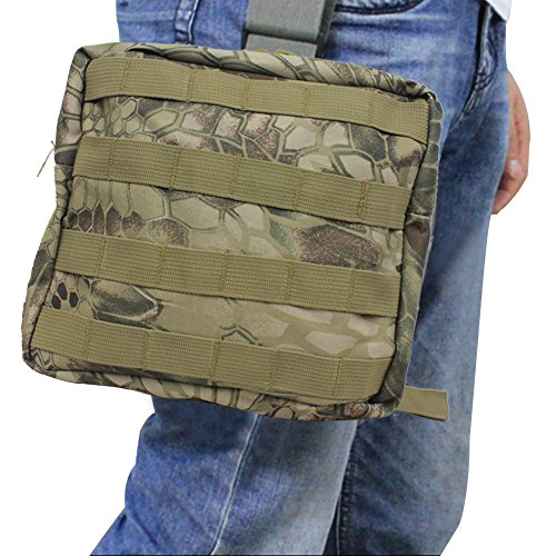 Waterproof 600D Oxford Waist Bag Tactical Molle EDC Outdoor Bag - 4