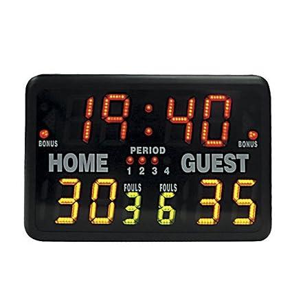 amazon com bsn multisport indoor tabletop scoreboard basketball rh amazon com