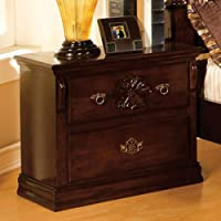 247SHOPATHOME Idf-7571N, nightstand, Oak