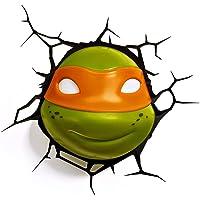 3D Light FX 3D Michelangelo TMNT Light - Green and Orange