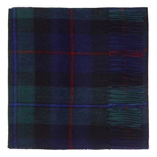 100% Lambswool Tartan Scarf, Campbell of Cawdor