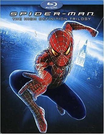 Amazoncom Spider Man The High Definition Trilogy Spider