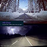 VAVA Dash Cam with SONY Image Sensor, Car DVR for 1080p 60fps Clear HD Videos in Low Light or at Night, Wide-Angle Lens, 3-axis G-sensor, Snapshot Remote Button, iOS & Android Mobile App