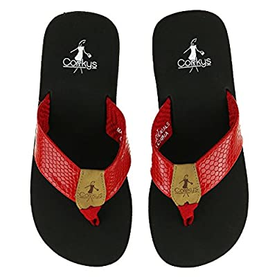 Corkys Footwear Women's Secret Flip Flop Sandal Shoes