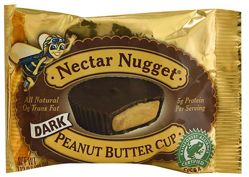 Natural Nectar Nugget Dark Chocolate Peanut Butter Cup -- 1.12 oz - 2 pc