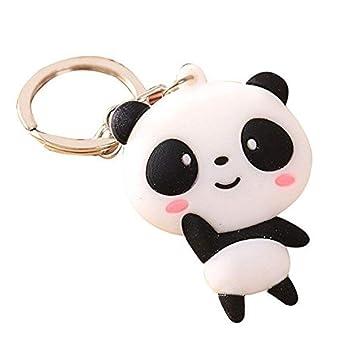 Spaufu Porte-Clés avec Fermoir Pendentif Ornement de Sac Décoration Forme  Panda pour Clefs Sac f135a9752d5
