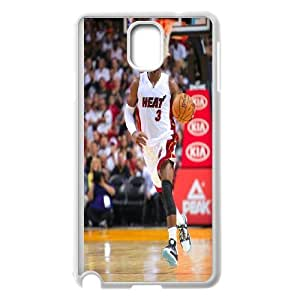 Unique Phone Case Pattern 16Miami Heat Dwayne Wade #3 Action Shot Phone Case- For Samsung Galaxy NOTE4 Case Cover