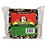 """Happy Hen Treats 6 Oz. Square-Mealworm and Seed, 4.25"""" by 4.25"""" by 1.25"""""""