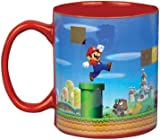 Super Mario Heat Change Mug | Heat Sensitive Colour Changing Coffee & Tea Cup | Sensitive To Hot Drinks | Colour & Design Changes When Hot | Great Gift For All Ages