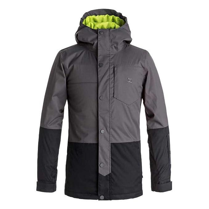 445117b4 DC Boy's Defy Snow Jacket, Dark Shadow, 14/XL: Amazon.ca: Clothing ...