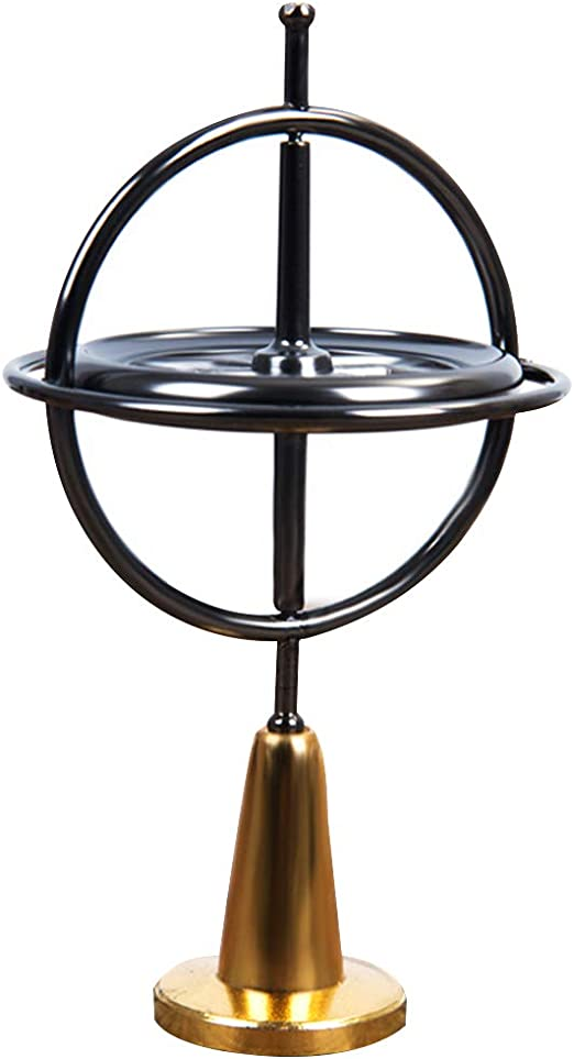 Classic Metal Gyroscope Gyro Pressure Relieve Speed Balance Educational Toy