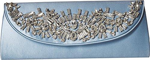 Lined Silk Clutch - Badgley Mischka Women's Guilt Clutch Light Blue One Size