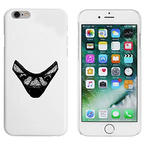 Blanc 'Culotte' étui / housse pour iPhone 6 & 6s (MC00045782)