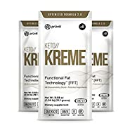 KETO//Kreme Ketone Healthy Coffee Creamer, Burns Fat and Promote Weight Loss, Provides Mental Energy Boost, Suppress Food Cravings,7 Sachets