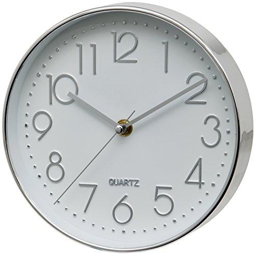 Unity Cambourne Silver Wall Clock - 8 Wall Clock