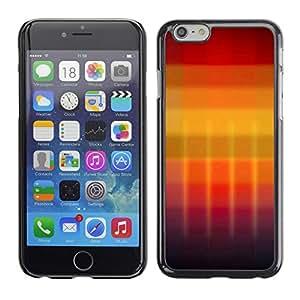 Cubierta de la caja de protección la piel dura para el Apple iPhone 6 (4.7) - Beautiful Red Lips