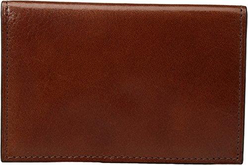 Bosca Leather Men's Card Credit Pocket Case Genuine Amber 8 rqrwFEd