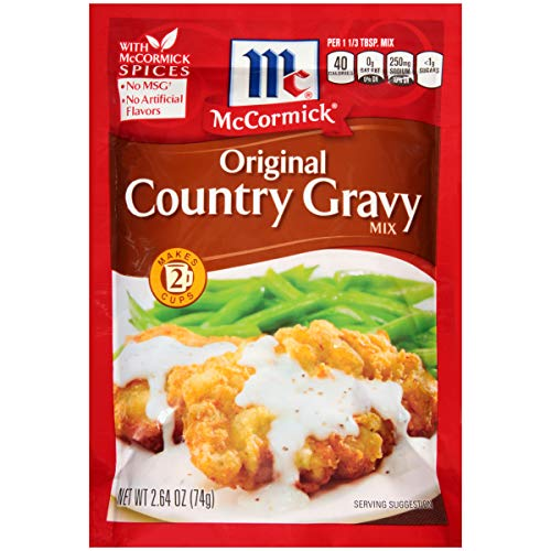 McCormick Original Country Gravy Mix, 2.64 oz ()