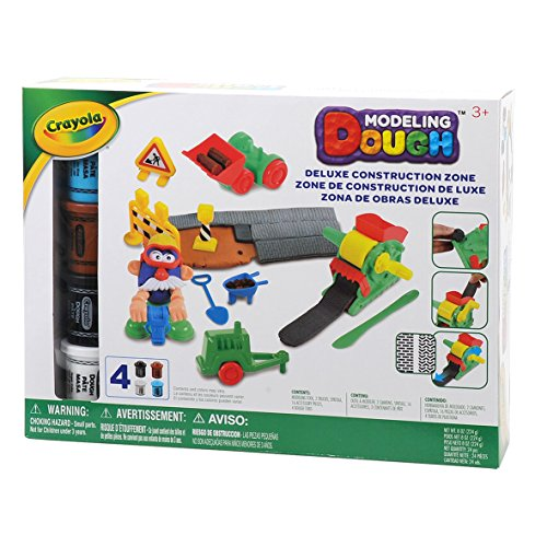 Crayola Modeling Dough Deluxe Construction Zone Kit - 24 pieces JungleDealsBlog.com
