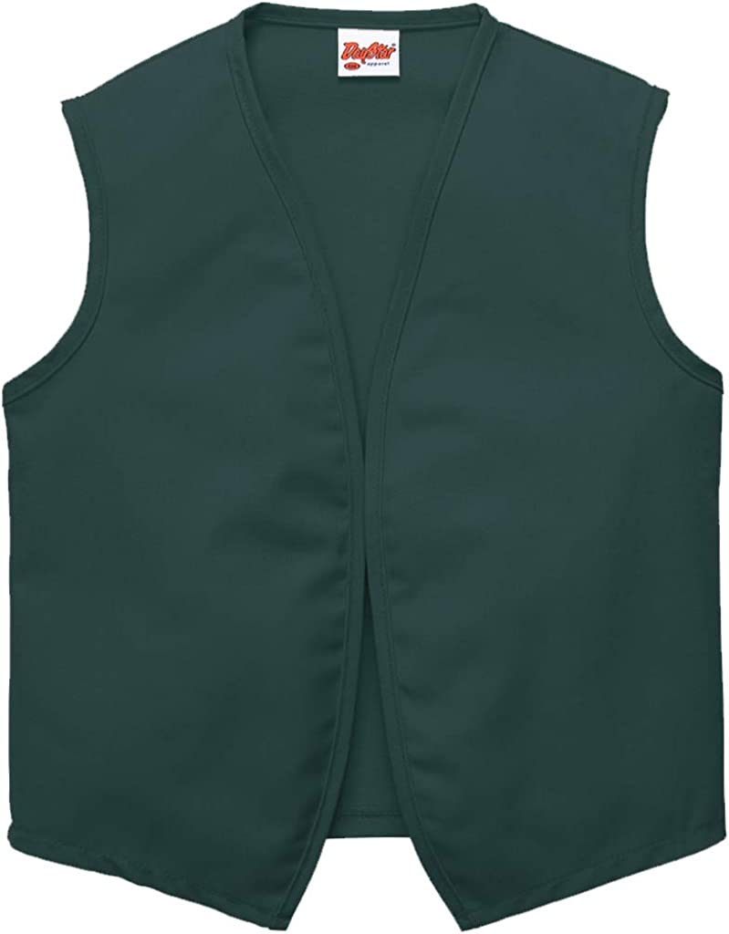 DayStar Apparel Unisex Uniform Vest No Pockets Style 740NP