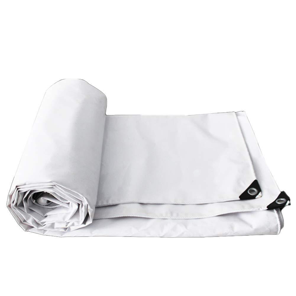 Hochwertiger Wasserdichter Plane-regendichter Sonnenschutz Tarp Carport-Stoff-weißes Linoleum-Segeltuch