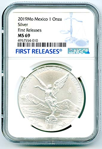 2019 O Mexico MO Libertad 1 OZ ONZA .999 Fine Silver Coin FIRST RELEASES Silver MS69 NGC